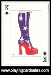 Shoes - Fashion & Fantasy by Piatnik for Bird Playing Cards, 2010 - Cat Ref 14659