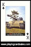 Tanks! playing cards by Piatnik for Nicky Bird Design, 2010 - Cat Ref 14660
