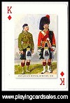 Dressed for War playing cards by Piatnik for Bird Playing Cards, 2010 - Cat Ref 14661