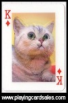 Jeu de cartes 3D - les Chats by France Cartes - Cat Ref 14677