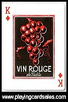 Joy of Wine , The by Piatnik for Bird Playing Cards, 2010 - Cat Ref 14685