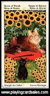 Tarot of Pagan Cats by Lo Scarabeo, 2010 - Cat Ref 14702