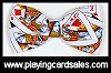 Bow tie - playing-cards (pre-tied) by Fabricraft - Cat Ref 14707