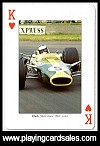 Motor Racing Legends by Piatnik for Bird Playing Cards, 2011 - Cat Ref 14713